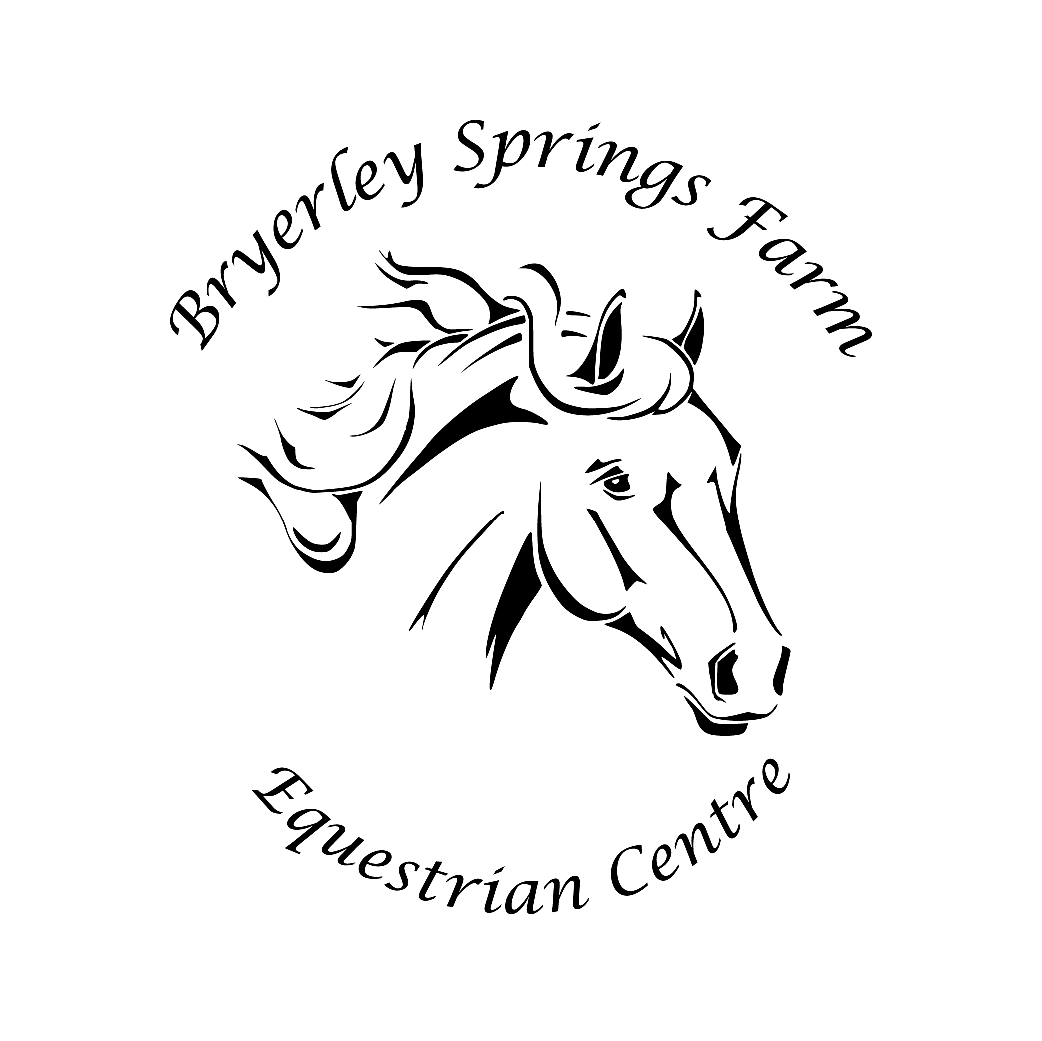 This is an image showing Bryerley Springs Equestrian Centre logo